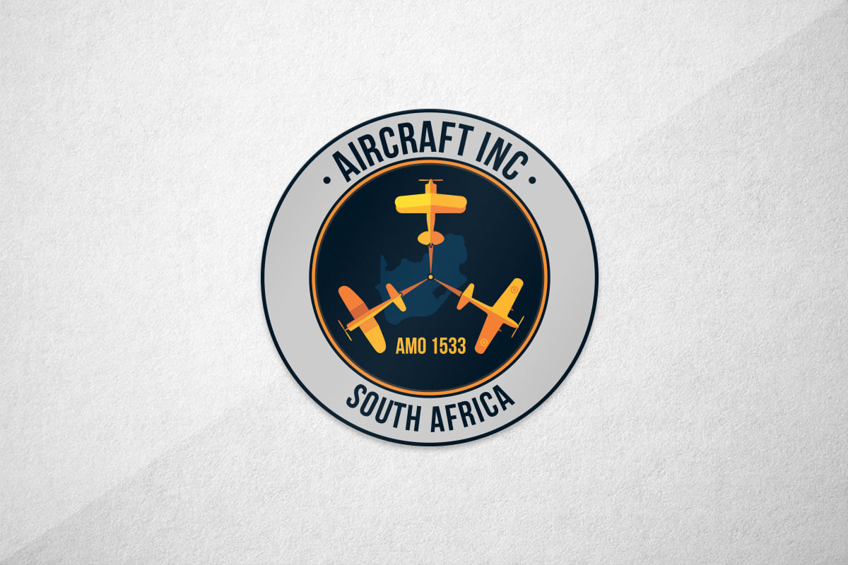 graphic design logo aviation