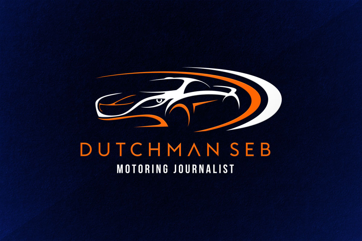 graphic design logo dutchman motoring journalist car