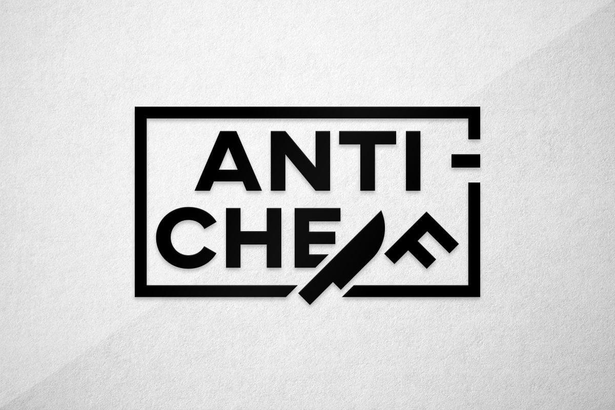 graphic design logo streaming chef kitchen