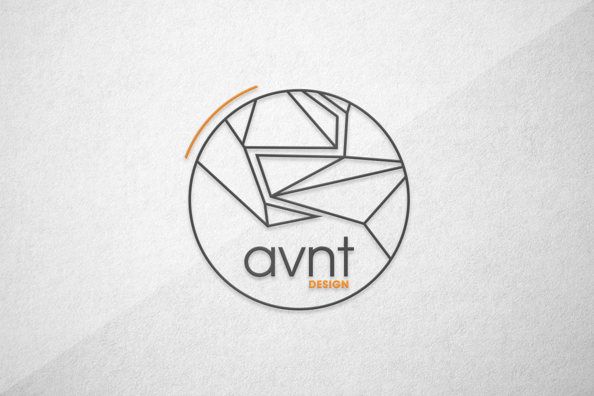 graphic design logo avnt avant