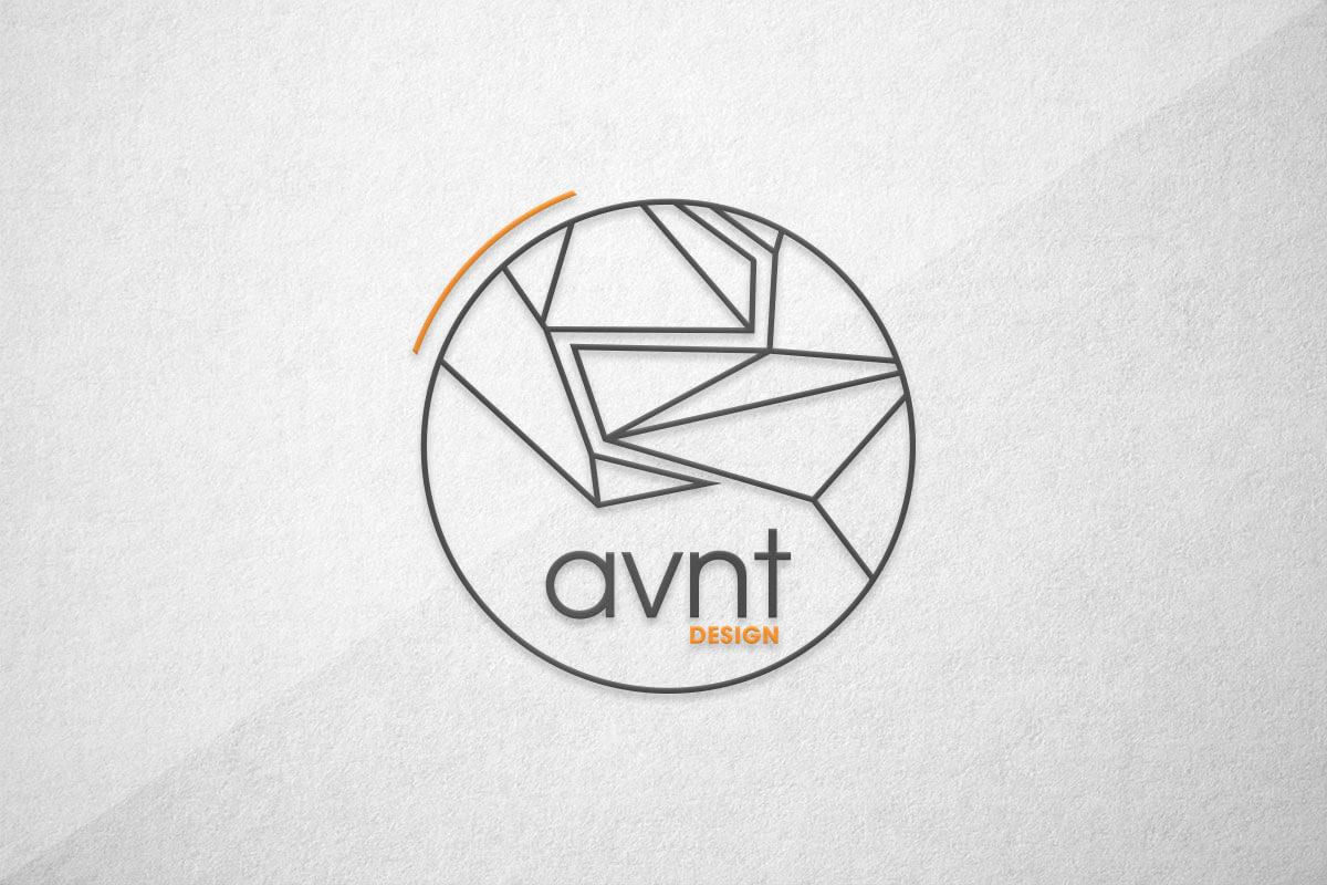 graphic design logo avnt avant