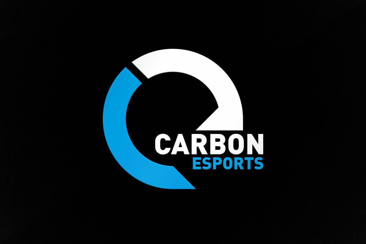 graphic design logo carbon esports
