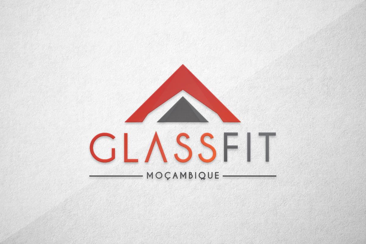 graphic design logo glass mozambique moçambique