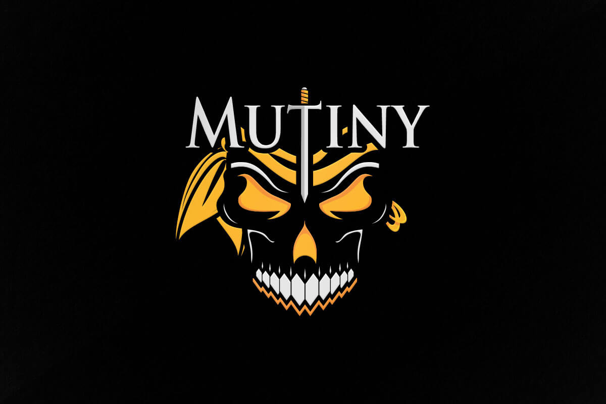 graphic design logo mutiny gaming