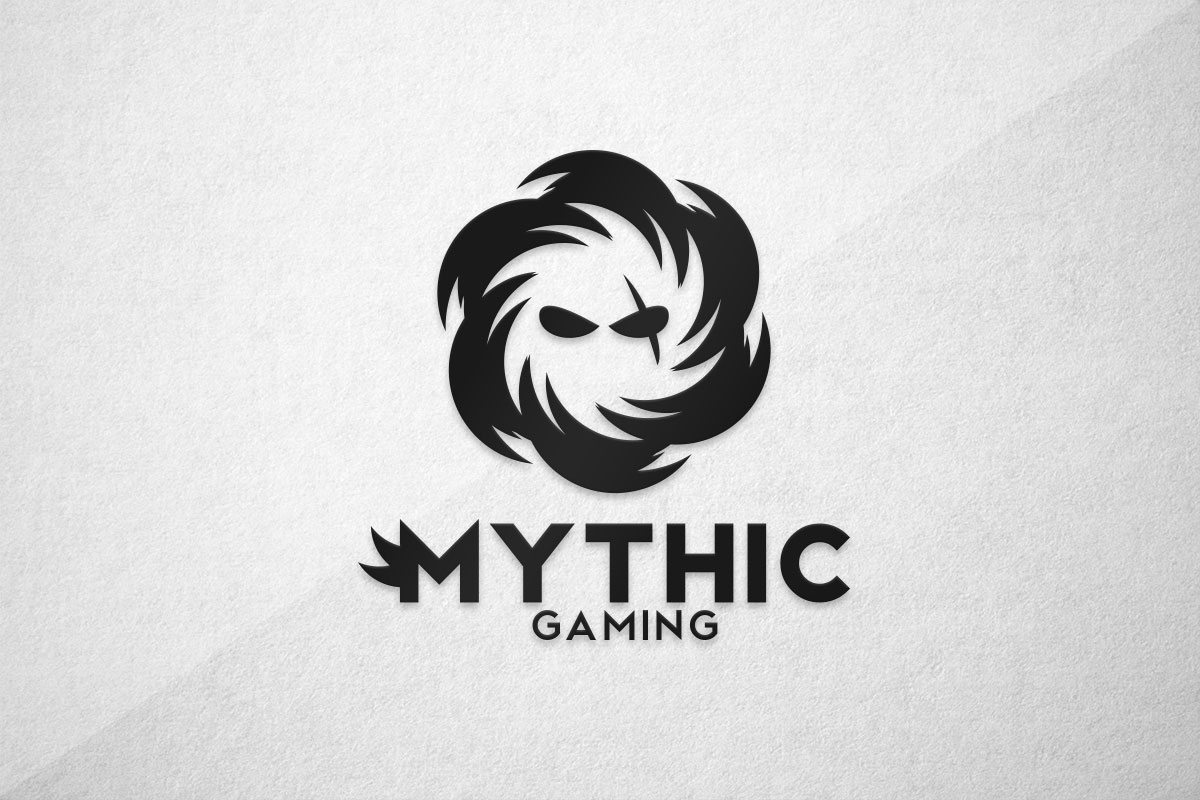 graphic design logo gaming esports mythic