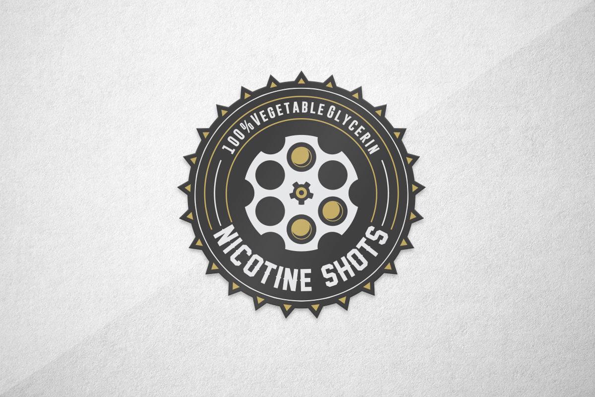 graphic design logo vape liquid juice