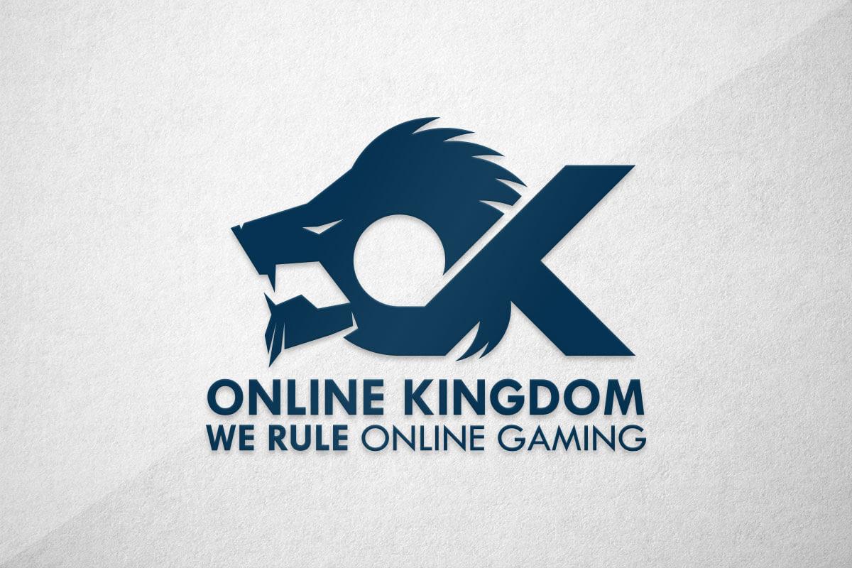 graphic design logo gaming esports online kingdom ok