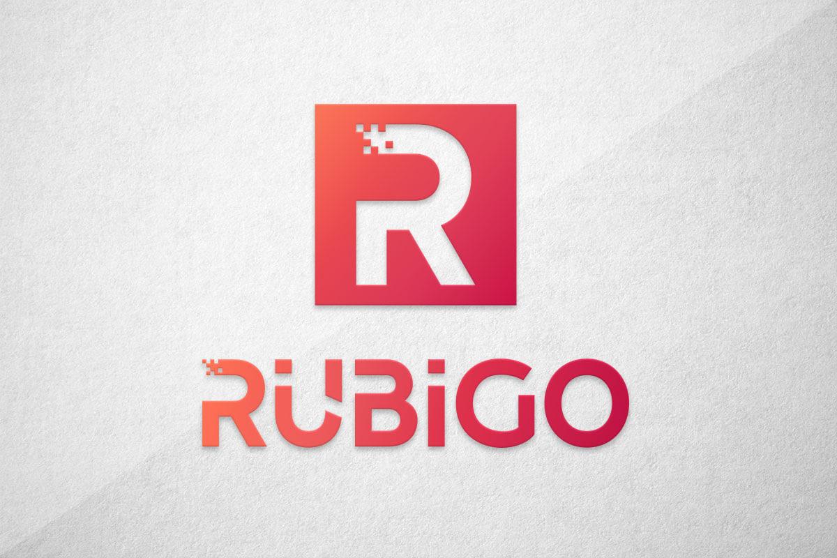 graphic design logo rubigo