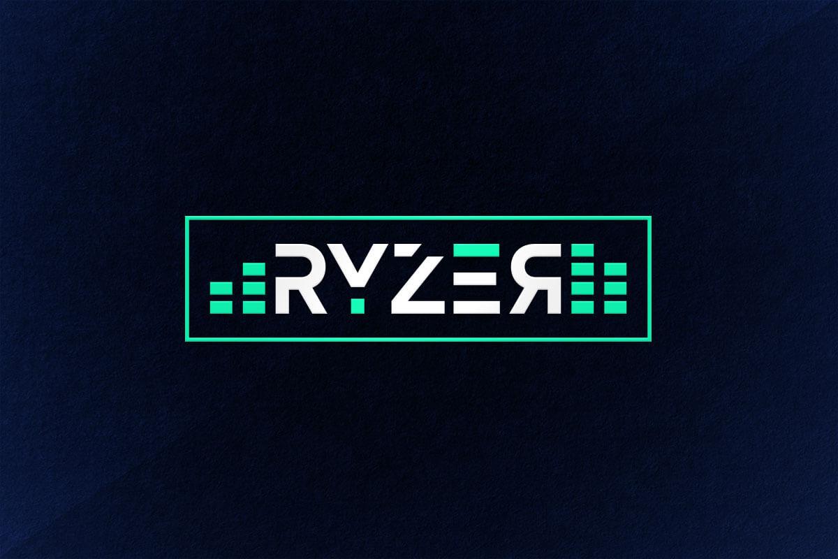 graphic design logo music equalizer
