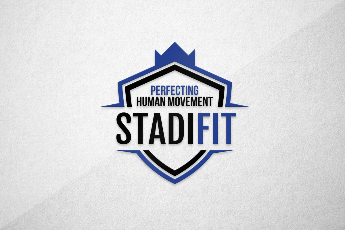 graphic design logo stadifit gym crossfit physio