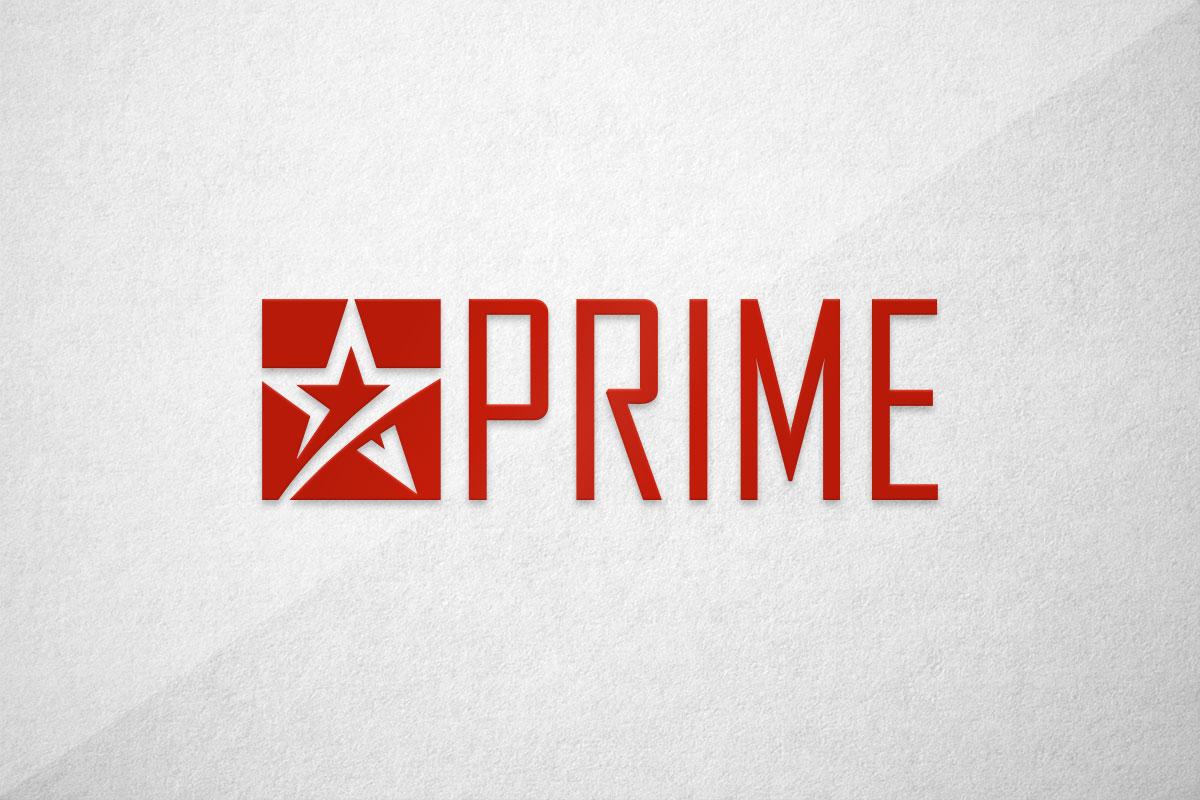 graphic design logo vape liquid king prime juice